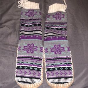 Accessories - NWOT Multicolor slipper sock